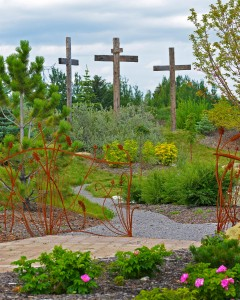 The Rosary Path, St. Mary's Sacred Garden