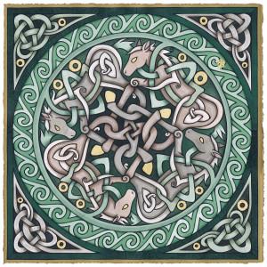 Celtic Illumination by Meg Yamamoto