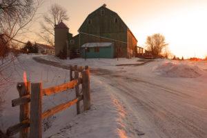 The barn at L'Arche Daybreak. Photo by Warren Pot