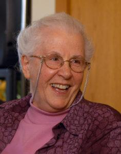 Sr. Sue Mosteller. Photo by Warren Pot