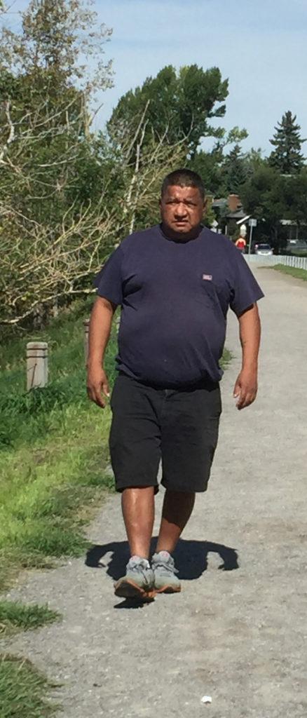 Martin walking CROP2