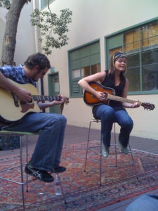 Performing with Josh Schroeder